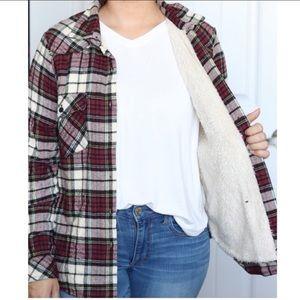 Faux Sherpa Lined Flannel